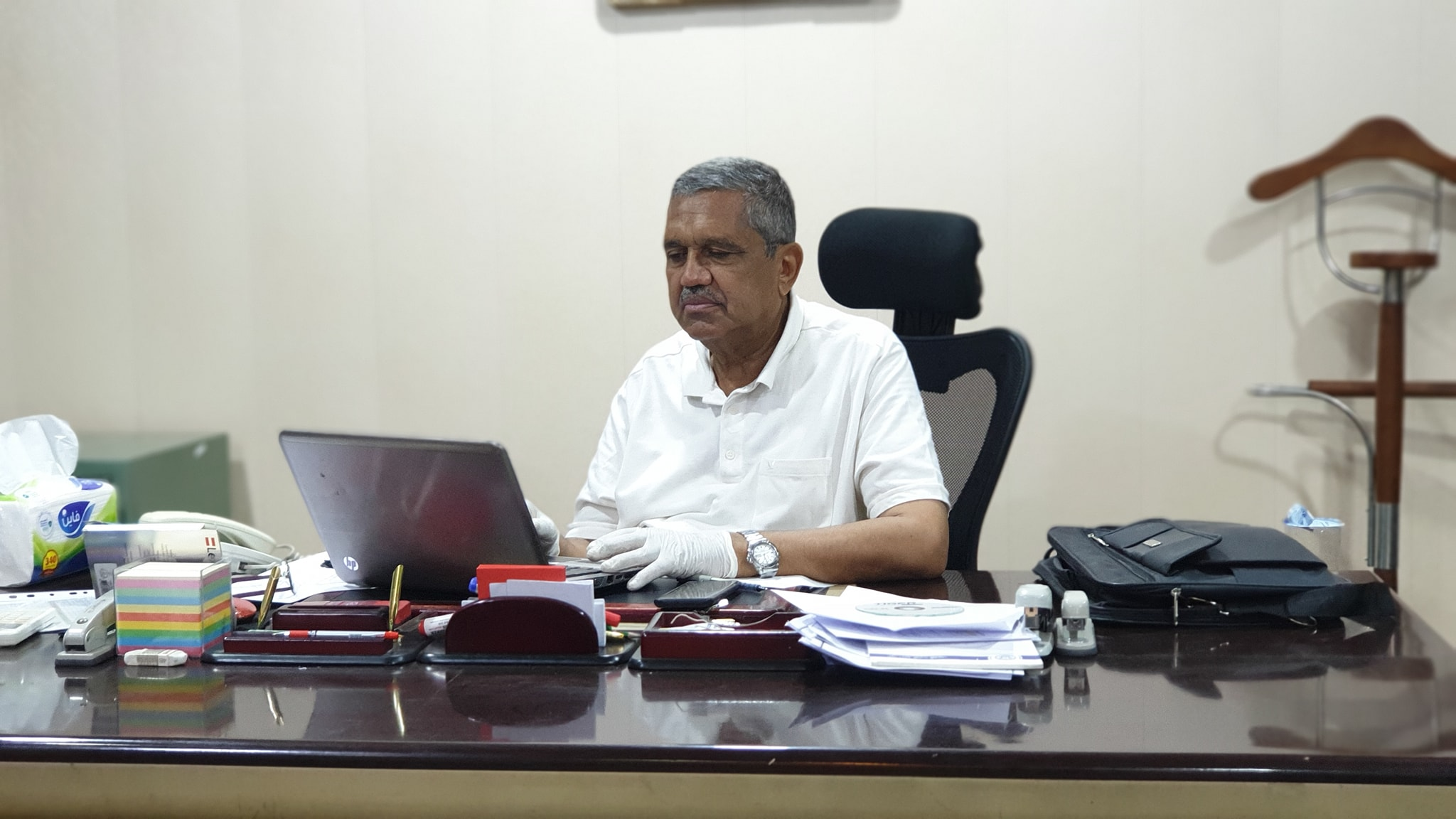 تكليف ا.د محمد عبود رئيسا لقسم إدارة الأعمال