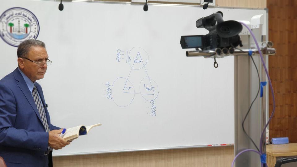 أساتذة كلية شط العرب الجامعة يواصلون إعطاء المحاضرات الألكترونية