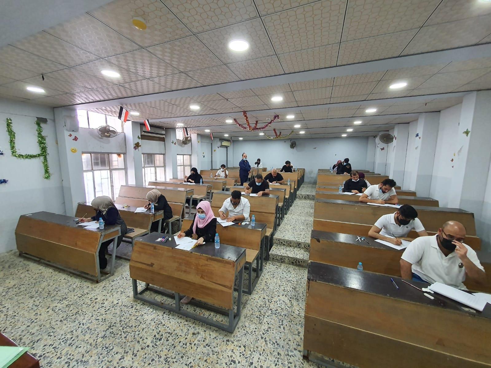 بدء الامتحانات النهائية للدور الأول 2020-2021 في كلية شط العرب الجامعة