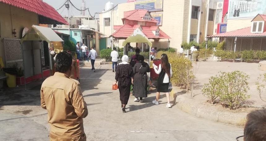 التشديد على الإجراءات الوقائية و الصحية بالتزامن مع الامتحانات النهائية الحضورية في كلية شط العرب الجامعة