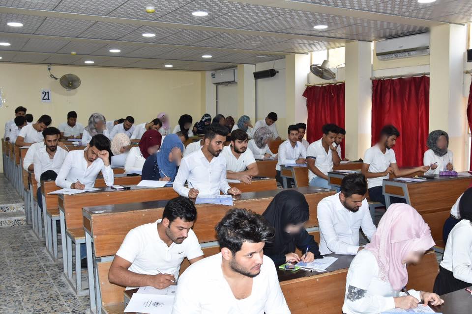 الامتحان التنافسي لقسمي علوم الحاسبات والمحاسبة