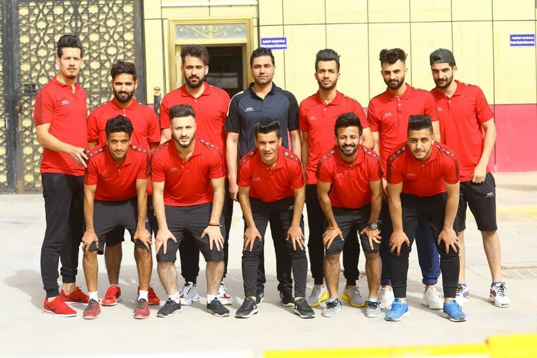 مشاركة فريق الطلبة الخماسي في بطولة العراق للجامعات و الكليات