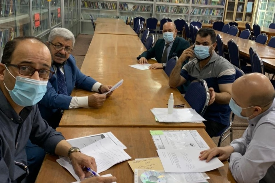 لجنة الترقيات في كلية شط العرب الجامعة تعقد اجتماعا لمراجعة طلبات الترقية