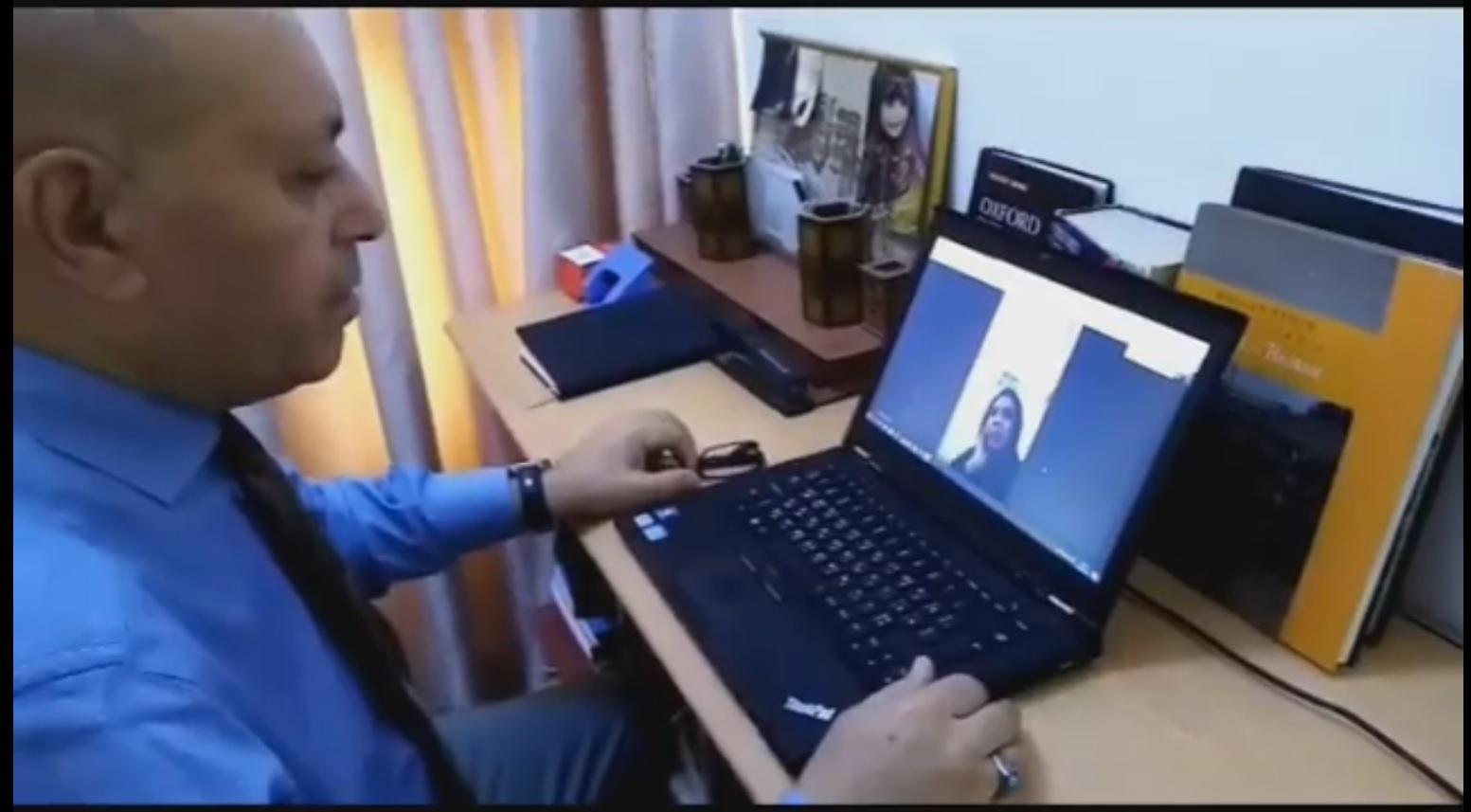 استمرار أداء الإمتحانات الإلكترونية لأقسام كلية شط العرب الجامعة خلال أيام الحظر الكلي