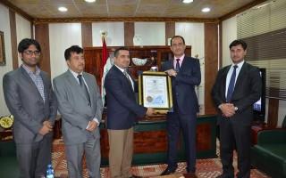 كلية شط العرب الجامعة تنال شهادة الايزو العالمية