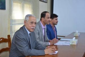 كلية شط العرب الجامعه تنظم دورات تنمويه للطلبه