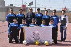 مشاركة فريق كرة القدم الخماسي في محافظة ذي قار