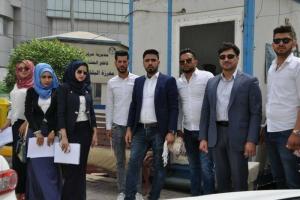 حملة التوعية المرورية الثالثة في مدينة البصرة