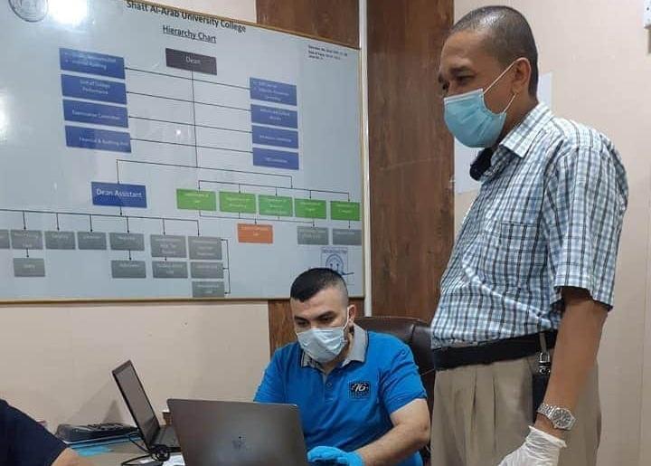 قسم علوم الحاسبات يعلن استعداده لإجراء الامتحانات الإلكترونية النهائية