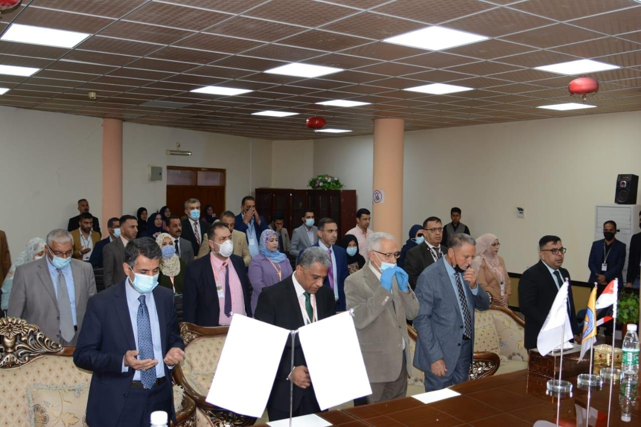 بدأ اعمال المؤتمر العلمي المشترك بين جامعة البصرة و كلية شط العرب الجامعة