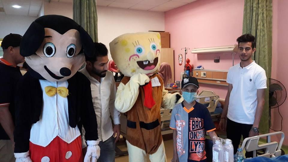 زيارة مستشفى الطفل للإمراض السرطانية في البصرة
