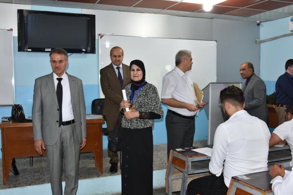 اللجنة المركزية للامتحانات في جامعة البصرة تزور كلية شط العرب الجامعة