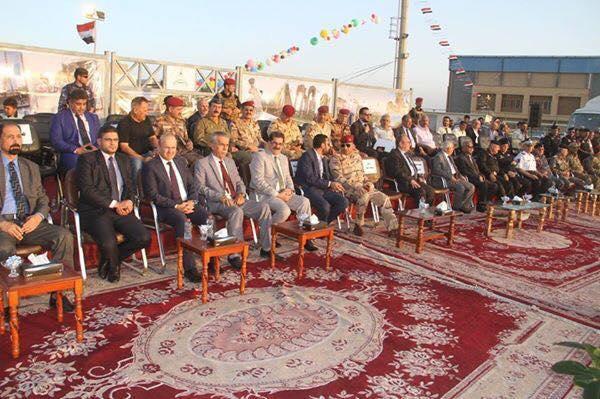 حضور السيد عميد الكلية في حفل التخرج المركزي لجامعة البصرة.....