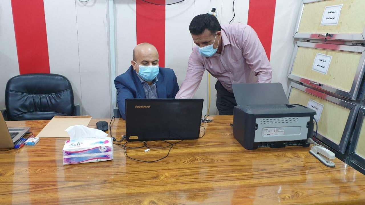 استمرار أداء الإمتحانات الإلكترونية النهائية في كلية شط العرب الجامعة