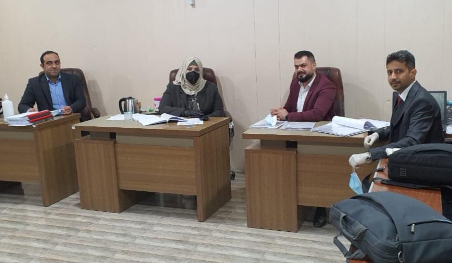 لقاء بين مسؤولي التعليم الإلكتروني في جامعة البصرة و كلية شط العرب الجامعة