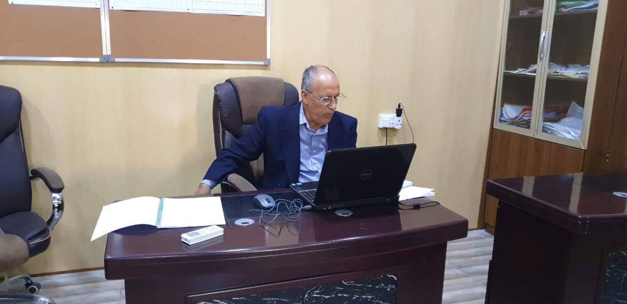 التعليم الالكتروني المدمج في كلية شط العرب الجامعة