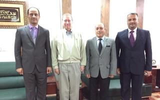 زيارة وفد من مشروع فرص العامل في العراق